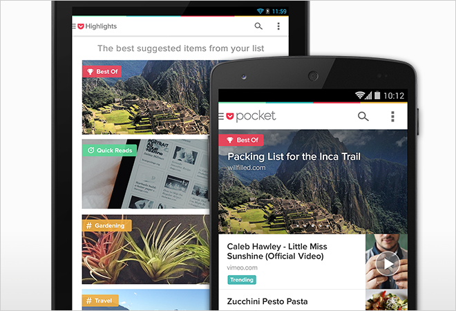 Pocket 5.0 for Android has Arrived!