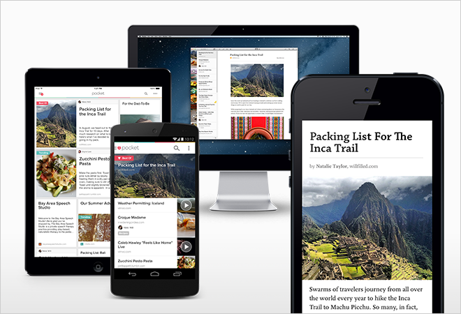 Pocket + Flipboard