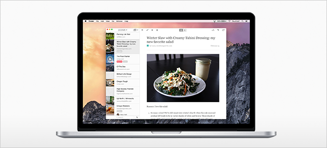 Introducing the New Pocket Mac App for OS X Yosemite