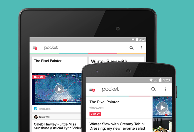 Introducing the New Pocket 5.7 with Material Design
