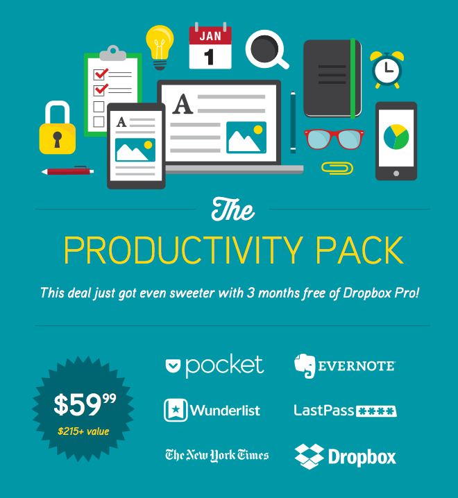 Dropbox Joins The Productivity Pack for its Final Week